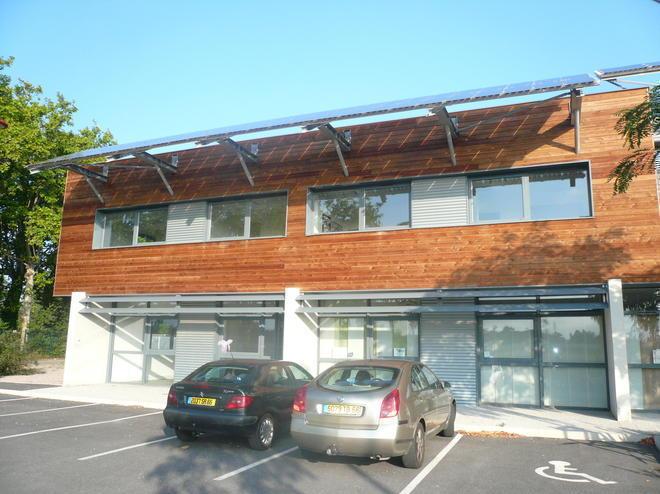 Les Bureaux du Parc à Toulouges (66350) - DSG est installée au 1er étage du Bât.C